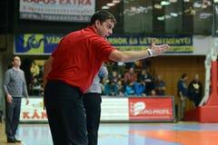 Kaposvar - Kormend basketball game Stock Photo
