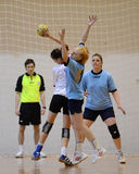 Kaposvar - Kormend handball game Royalty Free Stock Photography