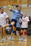 Kaposvar - Kormend handball game Royalty Free Stock Image