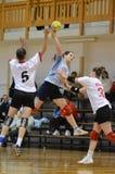 Kaposvar - Kormend handball game Stock Photos