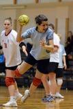 Kaposvar - Kormend Handballspiel Lizenzfreies Stockbild