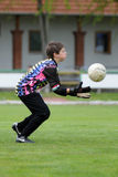 Kaposvar - Lenti U13 soccer game Royalty Free Stock Photography