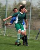 Kaposvar - Lenti U15 soccer game Royalty Free Stock Photography