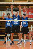 Kaposvar - MAFC volleyball game Royalty Free Stock Images