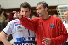 Kaposvar - Menen volleyball game Stock Photo