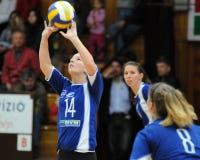 Kaposvar-Miskolc volleyball game stock photo