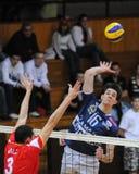 Kaposvar - Mladost Zagreb volleyball game Stock Photo
