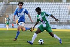 Kaposvar - MTK soccer game Stock Image