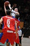 Kaposvar - Nyiregyhaza basketball game Stock Photo