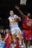 Kaposvar - Nyiregyhaza basketball game Royalty Free Stock Images