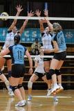 Kaposvar - Nyiregyhaza volleyball game Stock Image