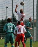 Kaposvar - Nyirsuli U17 soccer game Stock Photos