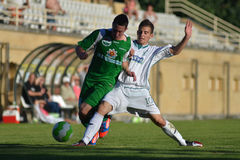 Kaposvar-Paks nell'ambito del gioco di calcio 19 Fotografia Stock Libera da Diritti