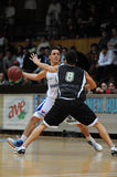 Kaposvar - Pecs basketball game Royalty Free Stock Photos