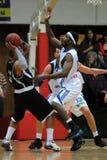Kaposvar - Pecs-Basketballspiel Lizenzfreies Stockbild