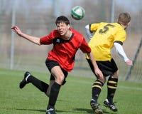 Kaposvar - Pecs U19 soccer game Royalty Free Stock Photos