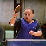 Kaposvar - Polgardi table tennis game Stock Photo