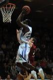 Kaposvar - Salgotarjan Basketballspiel Lizenzfreie Stockfotos