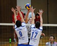 Kaposvar - Salonit Anhovo volleyball game Stock Photo