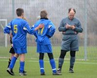 Kaposvar - Siofok nell'ambito del gioco di calcio 13 fotografia stock