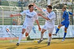 Kaposvar - Siofok soccer game Stock Photo
