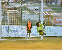 Kaposvar - Siofok soccer game Stock Photography