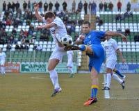 Kaposvar - Siofok soccer game Stock Images