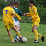 Kaposvar - Siofok U15 soccer game Stock Photo
