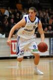 Kaposvar - Sopron basketball game Stock Images
