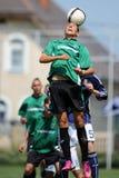 Kaposvar - Syfa West under 17 soccer game Stock Image