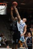 Kaposvar - Szeged basketball game Royalty Free Stock Image