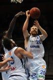 Kaposvar - Szeged basketball game Royalty Free Stock Images