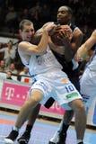 Kaposvar - Szeged basketball game Royalty Free Stock Photos