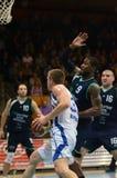 Kaposvar - Szeged basketball game Stock Image