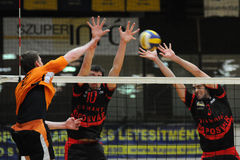 Kaposvar - Szeged volleyball game Royalty Free Stock Photo