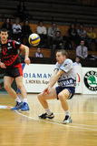 Kaposvar - Szeged volleyball game Royalty Free Stock Images