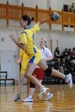 Kaposvar - Szekszard handball game Royalty Free Stock Photos