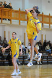Kaposvar - Szekszard handball game Stock Image