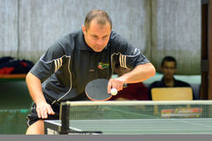 Kaposvar - Szekszard table tennis game Stock Photos