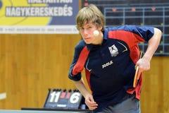 Kaposvar - Szekszard table tennis game Royalty Free Stock Image