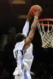 Kaposvar - Szolnok Basketballspiel Stockfotografie