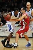 kaposvar szolnok för basketmatch Royaltyfri Foto
