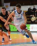 Kaposvar - Szombathely basketball game Royalty Free Stock Images