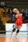 Kaposvar - TFSE Volleyball Game Royalty Free Stock Image