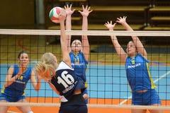Kaposvar - Ujbuda Volleybalabgleichung Lizenzfreies Stockbild