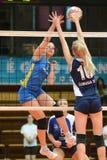 Kaposvar - Ujbuda volleyball match Stock Photo