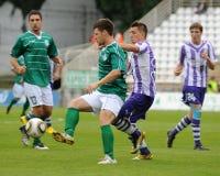 Kaposvar - Ujpest soccer game Royalty Free Stock Image
