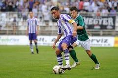 Kaposvar - Ujpest soccer game Royalty Free Stock Images