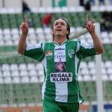 Kaposvar - Vasas soccer game Stock Photo