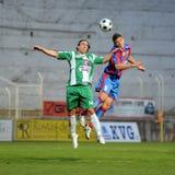 Kaposvar - Vasas soccer game Royalty Free Stock Image